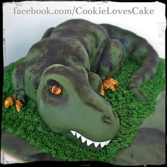 Easy TRex cake for kids Cakes Pinterest Cake Easy and Birthdays