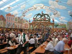 Oktober Fest, Munich, GE.  It's everything you hope it is and more.