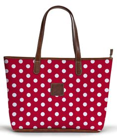 I would use this as a pool/beach bag. The polka dots make it extra fun and stylish to carry around :)
