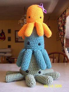 diy crafts, gift ideas, mobil, tutorial crochet, crochet octopus