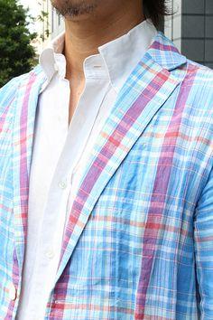 Linen jacket&linen BD shirts