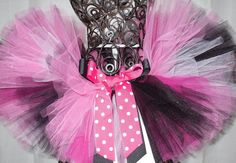 Minnie Mouse tutu by CastaliaBoutique on Etsy