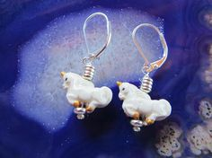 unicorn earrings  pr