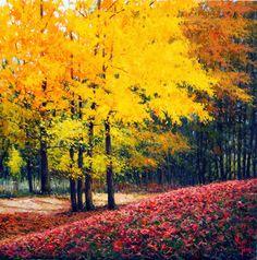 Resultado de imagen de cuadros de otoño