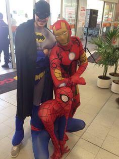 I Supereroi (Batman-Spiderman-Ironman)