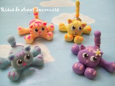 polimer clay cats