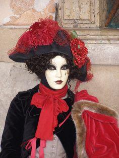 Tristesse. Venice Carnival 2015 by Lesley McGibbon