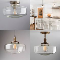 Apartment Lighting, Kitchen Design, House Design, Ceiling Lights, Home Decor, Decoration Home, Design Of Kitchen, Room Decor, Architecture Design