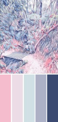 Peaceful tones for calming interior design palette. This color palette is perfect for calm and harmonious rooms. Inspired by the original artwork in the pin - available to purchase on Etsy. Color Schemes Colour Palettes, Pastel Colour Palette, Colour Pallette, Pastel Colors, Color Combinations, Room Color Schemes, Color Schemes For Bedrooms, Colours, Silver Color Palette