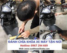 Đánh chìa khóa xe máy Honda, Yamaha, Piaggio, SYM, Suzuki tại Hà Nội ở đâu uy tín nhất?