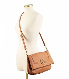 Tory Burch Amanda Foldover Messenger | Womens Top Handles & Shoulder Bags