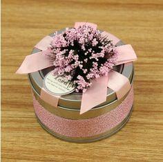 Tin Wedding Favor Candy Boxes Gift Box