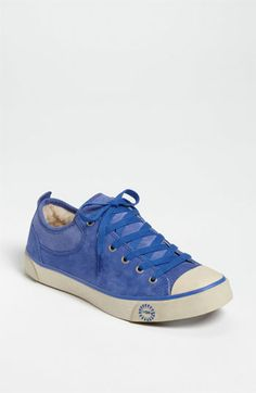 Didn't think I liked Uggs, but shearling on the inside and blue suede on the outside is quite a nice combo. UGG® Australia 'Evera' Suede Sneaker (Women)   Nordstrom