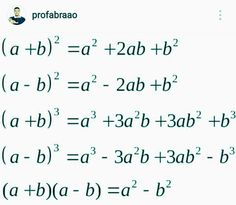 Fórmula matematica