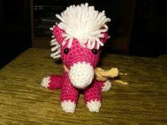 Crochetted Pony =^_^=