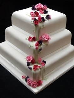 Wedding cake , from Iryna Gorgeous Cakes, Pretty Cakes, Amazing Cakes, Valentine Cake, Cake Pictures, Fancy Cakes, Creative Cakes, Cake Creations, Wedding Cakes