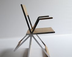 tipping chair by different and different