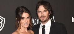 BEVERLY HILLS, CA - JANUARY 11:  Nikki Reed and Ian Somerhalder attend the 2015 InStyle And Warner Bros. 72nd Annual Golden Globe Awards Post-Party at The Beverly Hilton Hotel on January 11, 2015 in Beverly Hills, California.  (Photo by Jason Merritt/Getty Images)