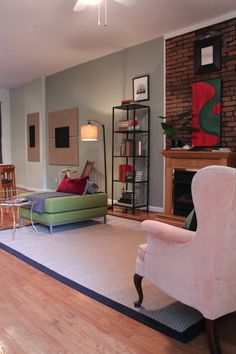 Peek Home Styling - Lemp Ave. - living room