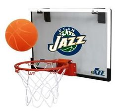 ~Utah Jazz Backboard Hoop Set~ backorder