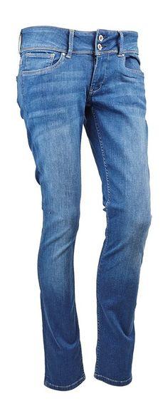 Pepe Jeans Jeans »'VERA' Slim-fit Zweiknopf-Bund« für 99,00€. Jeans für Damen von Pepe Jeans, Hochwertiges Material, Trendiger Look bei OTTO