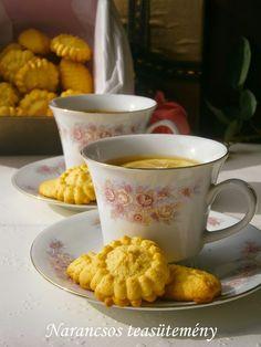 Narancsos teasütemény