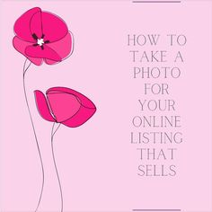 """The Crafty Sagittarius 📃🌺 on Instagram: """"HOW TO TAKE PHOTOS FOR YOUR ONLINE LISTINGS?  In a perfect world, images and appearances shouldn't matter. But in reality, especially…"""""""