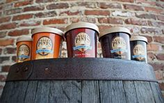 Craft beer ice cream for dessert! Each savory pint is a beer lovers delight! Bacon Ice Cream, Beer Ice Cream, Make Ice Cream, Flavor Ice, Ice Cream Flavors, Ice Cream Recipes, Alcoholic Ice Cream, Craft Beer Gifts, Ice Cream Companies