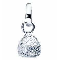 Virtue Sterling Silver Swirl Drop Charm £30