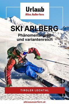 Ski Arlberg mit über 305 ausgezeichneten Pistenkilometern ist das größte zusammenhängende Skigebiet Österreichs. Durch den Zusammenschluss von Lech/Zürs mit Warth/Schröcken kannst Du auch vom Tiroler Lechtal aus ins Skigebiet Ski Arlberg einsteigen und so einen familiären Urlaub im Tiroler Lechtal mit Fun auf höchstem Niveau verbinden. Arlberg Ski | Arlberg Winter | Tirol Winter. Mit Unterstützung von Bund, Land und Europäischer Union (LEADER). Baseball Cards, Winter, Sports, Day Trips, Recovery, Winter Time, Hs Sports, Sport, Winter Fashion