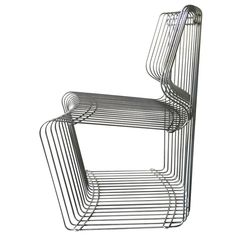 Four Dining Chair, Designed by Verner Panton for Fritz Hansen ca.1968