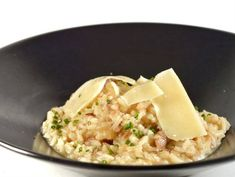 Tapa arroz cremoso pato y parmesano  Reserva online para comer arroz. EligeTuPlato.es