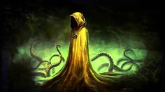 Lovecraftian Doom Metal - Hastur, The king in yellow - feat Grezzmetal Dream Quest, Yellow Sign, Lovecraftian Horror, Call Of Cthulhu, Video Image, Dungeons And Dragons, Character Concept, Cool Art, Scene