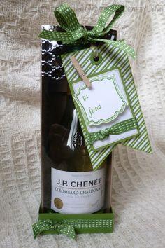 wine tag a box