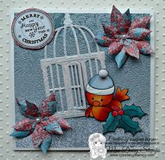 Scents of Christmas Card Kit http://www.missdaisystamps.com/product/scents-of-christmas-card-kit/ on card sample designed by Margreet www.margreets-scrapcards.blogspot.nl