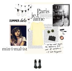 """""""summer date"""" by fanira ❤ liked on Polyvore featuring Crate and Barrel, MANGO, Bobbi Brown Cosmetics, Wine Enthusiast, Shoe Cult, See by Chloé, MAC Cosmetics and The Row"""