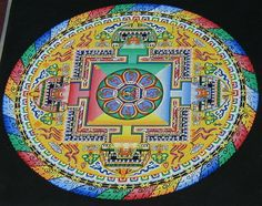 Tibetan Mandala | Finished Tibetan Mandala | Flickr - Photo Sharing!