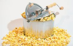 We've tried many different popcorn poppers in our house. The Whirley Pop Popcorn Popper is our favourite.