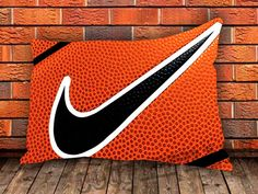 Nike Basketball Logo New Pillow Case Cover by COUPLECUSTOMSTORE, $14.98
