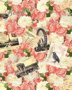 Bonjour Mon Amour - Paris Love Letters - Blush