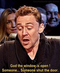From Top Gear - Tom's reaction to being in the helicopter (Jaguar Ad)<<I loved this interview😂