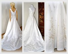 50% OFF Royal Wedding Dress Sweep Gown Classic by EventOutlet