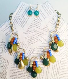 Colorful Tears Necklace