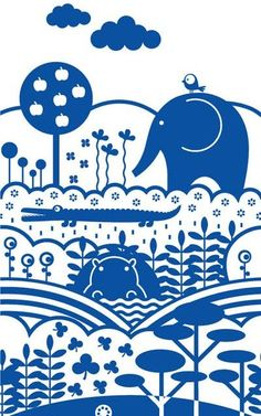 Vector Elephant Illustrations |