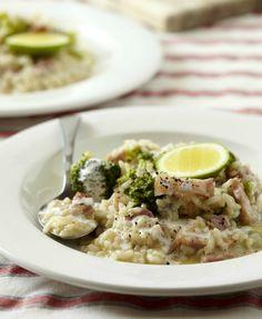 Krémové risotto se slaninou a brokolicí , Foto: isifa.com