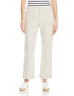 Levis Womens Utility Chino Pant Hazy Moonstruck 29W * Read more reviews of the product by visiting the link on the image. (Note:Amazon affiliate link)