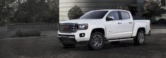 2015 GMC Canyon in Summit White