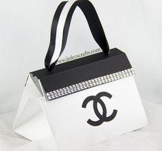 Chanel Inspired Purse Invitation, Wedding Box Invitation, Quinceañera Purse Invitation, Sweet 16 Pop-Up Invitation (Deposit Only) on Etsy, $55.29 CAD
