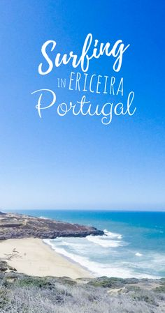 Learning how to surf in Ericeira, Portugal at Rapturecamps