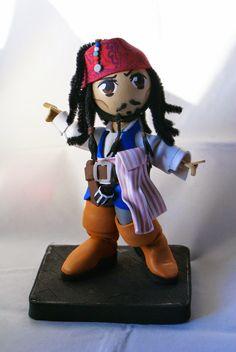 Friki Fofuchas: Frikifofuchas: Jack Sparrow v6